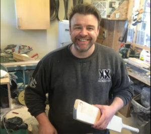 Live at the workshop – bat repair part 1