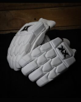 VS Carbon White Tipped Gloves Adult