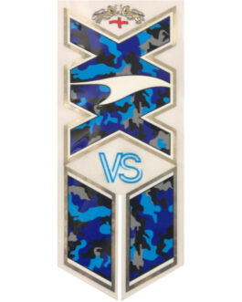 VS Blue Kamo/Clear XX Cricket Bat