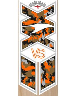 VS Orange Kamo/White XX Cricket Bat